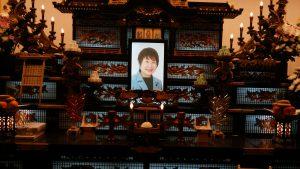岡崎トミ子さん告別式